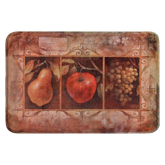 Daisy Fuentes Relaxed Chef DFRC36 Vintage Fruit Kitchen
