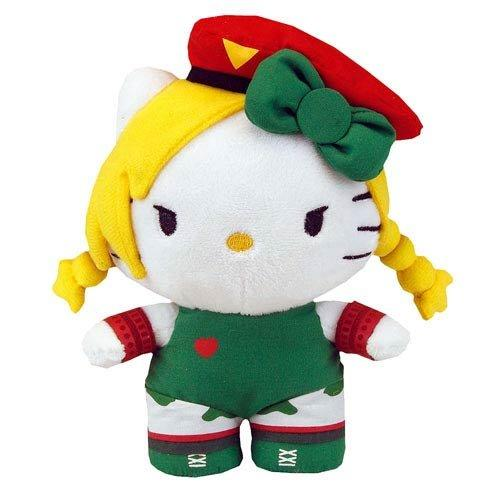 "Hello Kitty Street Fighter X Sanrio Capcom Cammy Mini 6"" Plush by Toynami, Inc."