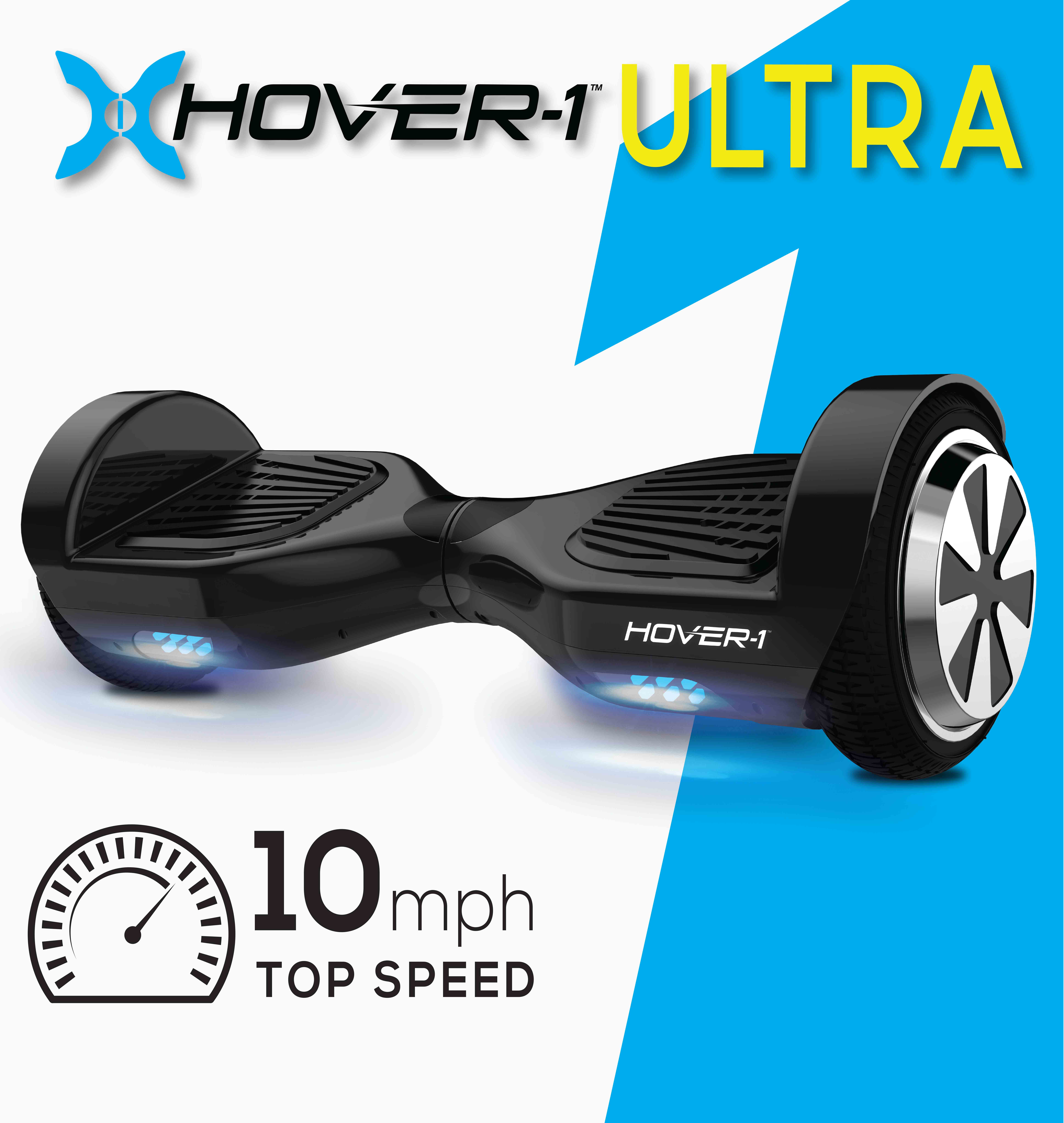 Hover-1 Ultra Electric Self-Balancing Scooter, Black