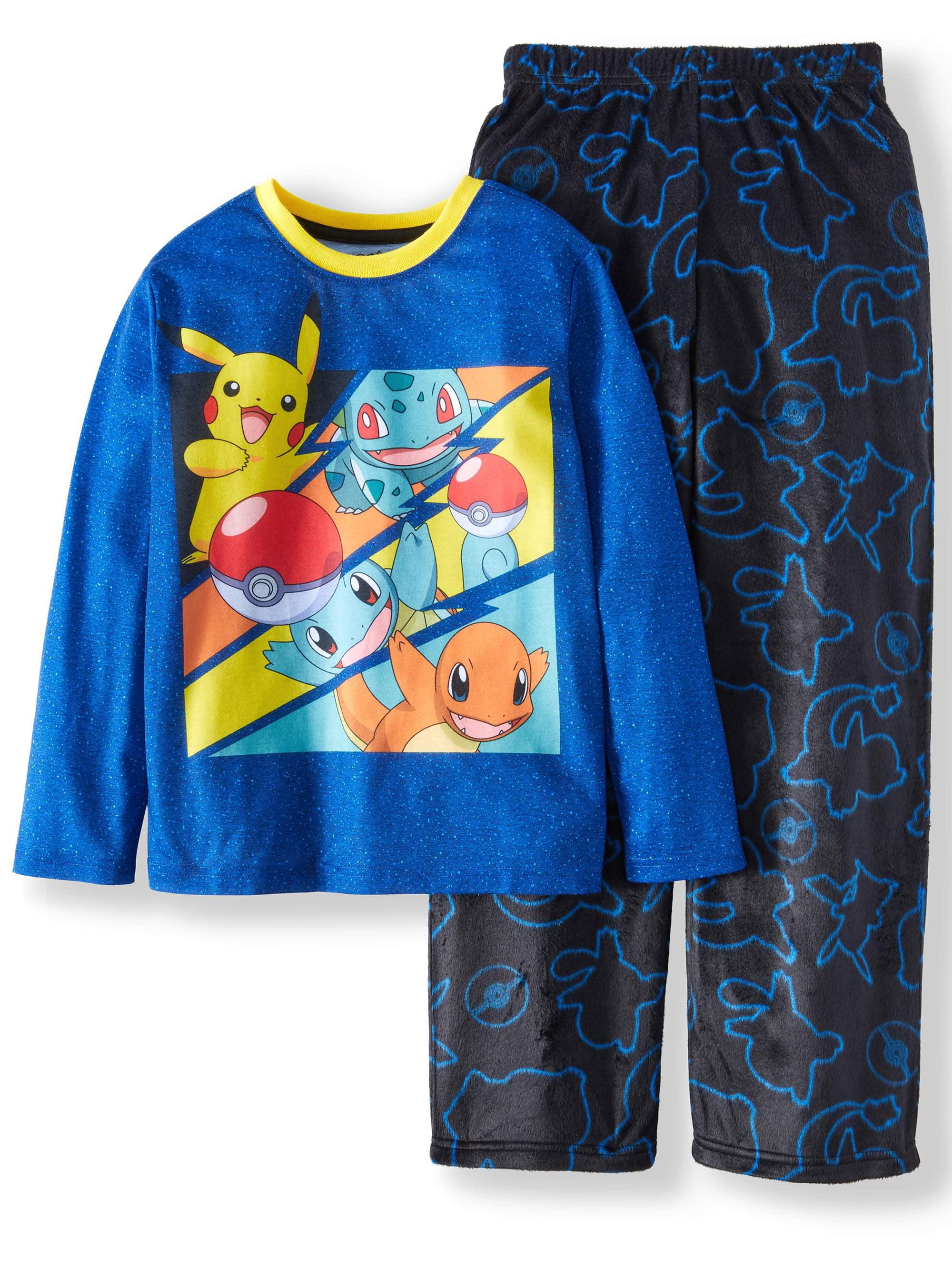 16b4d5012 Pokemon Fleece 2 Piece Pajama Sleep Set (Little Boy   Big Boy ...