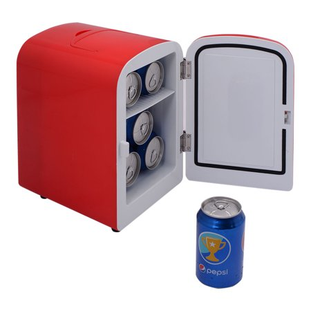 Costway Portable Mini Fridge Cooler And Warmer Auto Car Boat Home Office Ac   Dc Red
