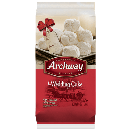 Archway Cookies Wedding Cake 6 Oz