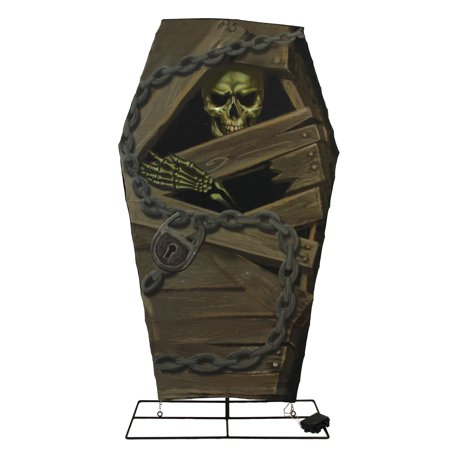 Halloween Coffin Dimensions (48