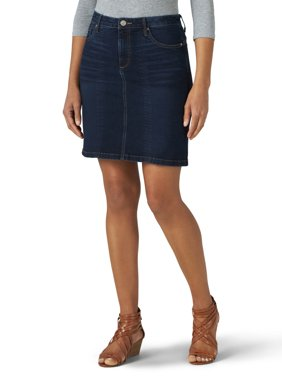 Lee Riders Women's Shape Illusions Seam Front A-Line Skirt
