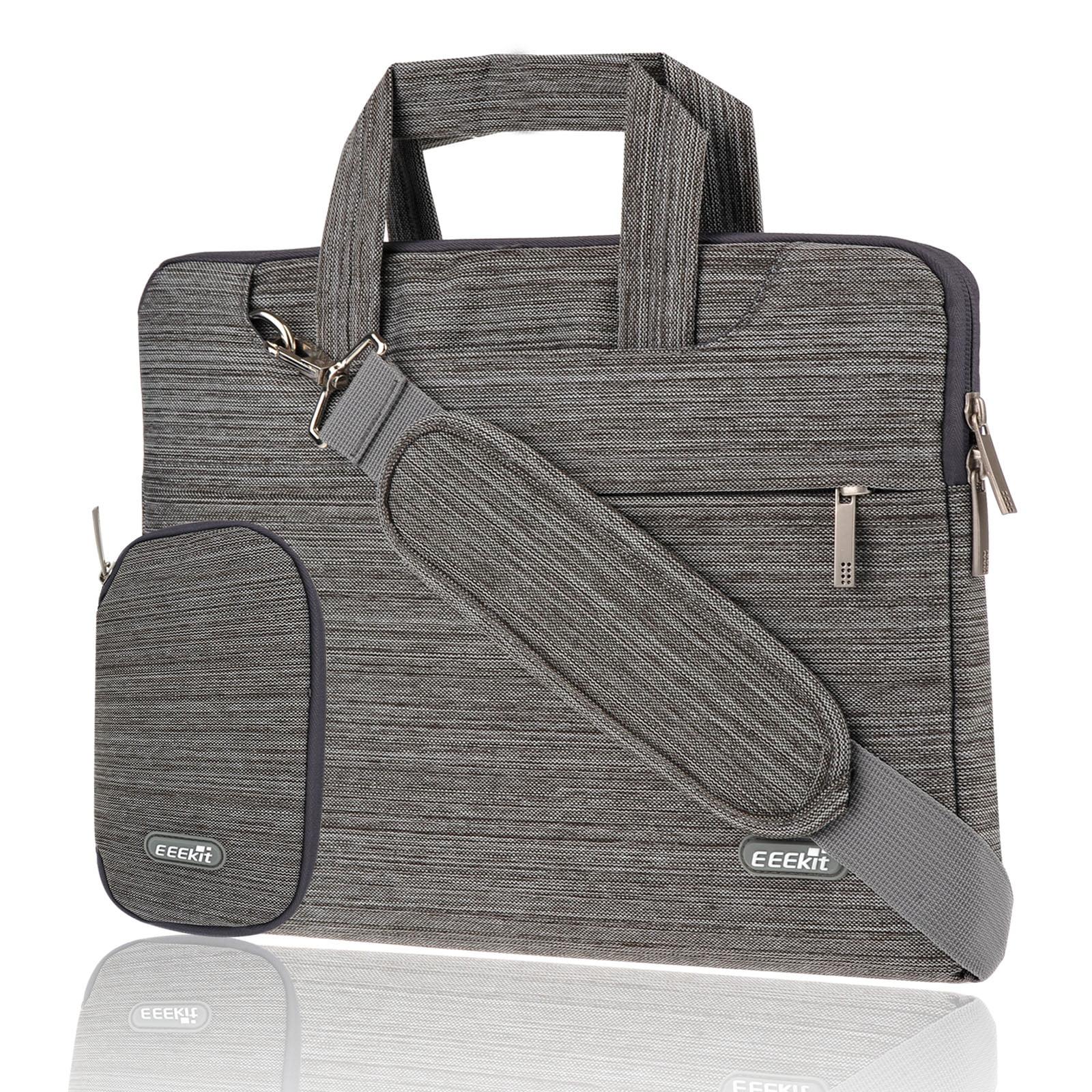 EEEKit Univesal 11.6 inch Laptop Shoulder Handle Sleeve Bag Briefcase Carrying Case for MacBook HP Acer ASUS Lenove Dell