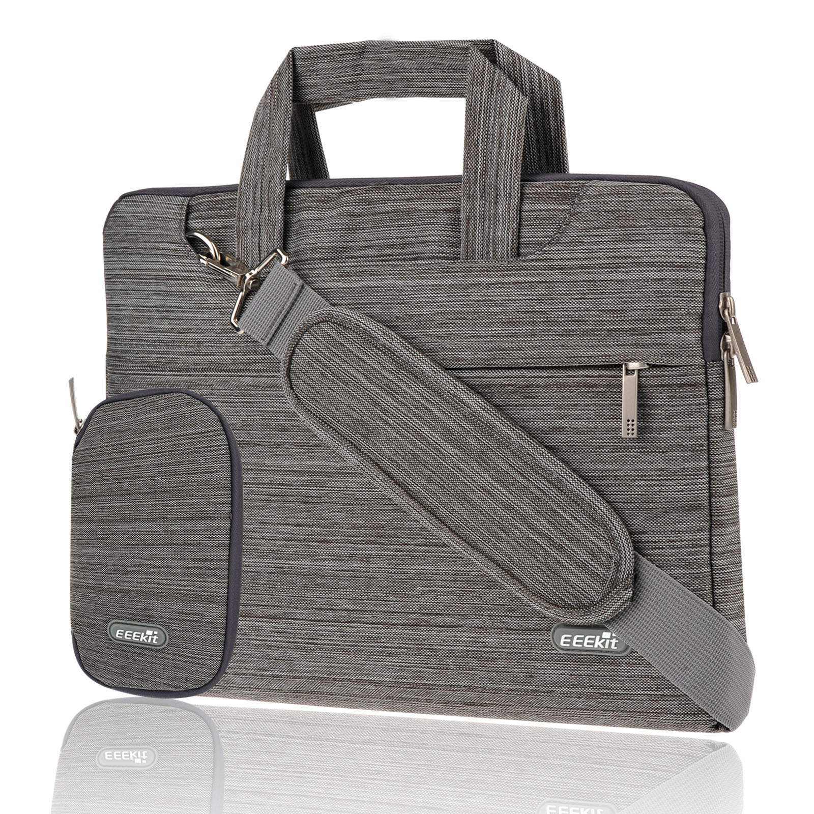 EEEKit Univesal 11.6 inch Laptop Shoulder Handle Sleeve Bag Briefcase Carrying Case for MacBook HP Acer ASUS Lenove Dell