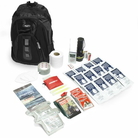 Emergency Zone The Essentials 3-Day Emergency Survival Kit- 2 Person/Black