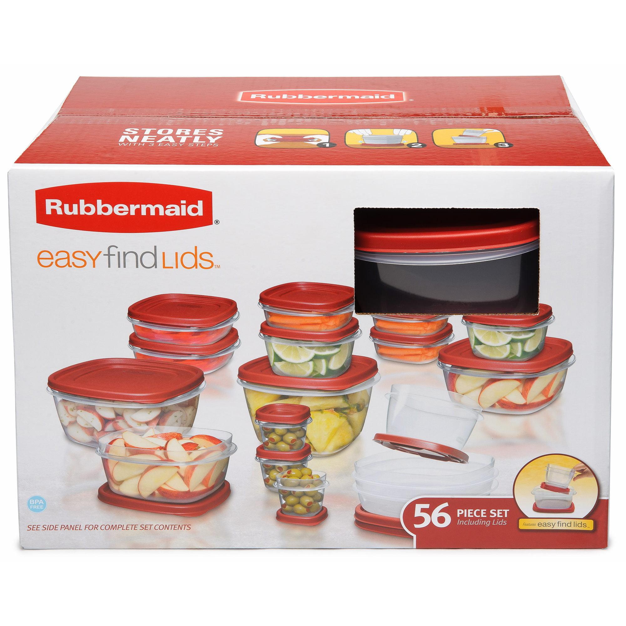 sc 1 st  Walmart & Rubbermaid 56-Pc. Food Container Set - Walmart.com
