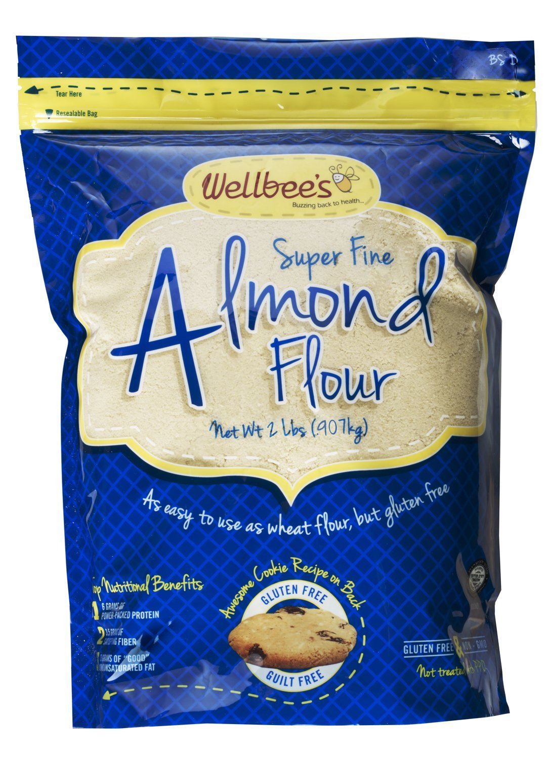 Super Fine Blanched Almond Flour Kosher for Passover (5 LB