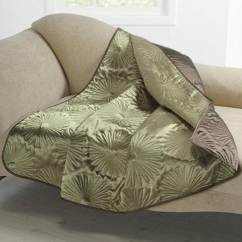 Victoria Classics Alana Embossed Plush Throw Blanket