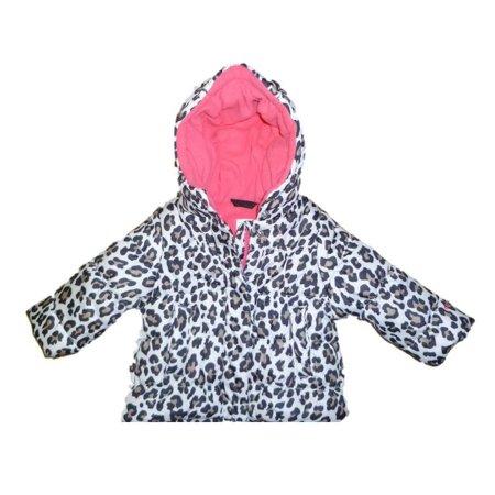 c12cde858 Carters - Carters Toddler Girls Black Leopard Print Ski Jacket Puffer Coat  2T - Walmart.com