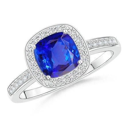 tanzanite engagement rings platinum - 700×700