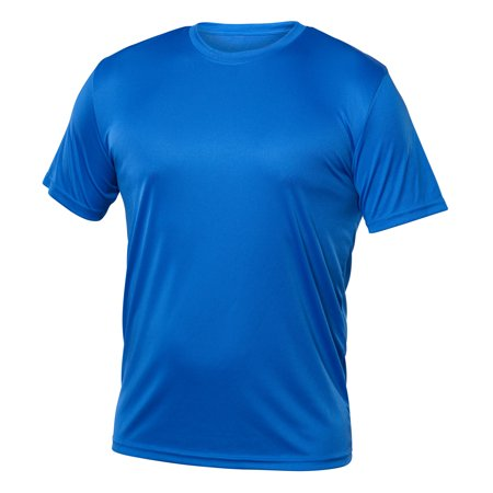 Blank Activewear Pack of 5 Men's T-Shirt, Quick Dry fabric - image 3 of 4