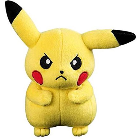 Pikachu Tail (Tomy Pokemon Small Plush - Angry Scowling Pikachu, Officially licensed pokemon by Tomy By)