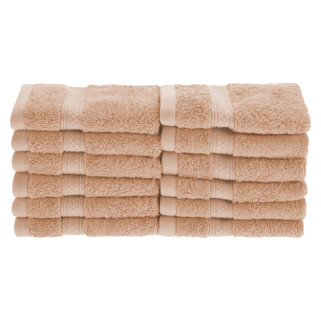Superior 650GSM Rayon From Bamboo 12-Piece Face Towel Set