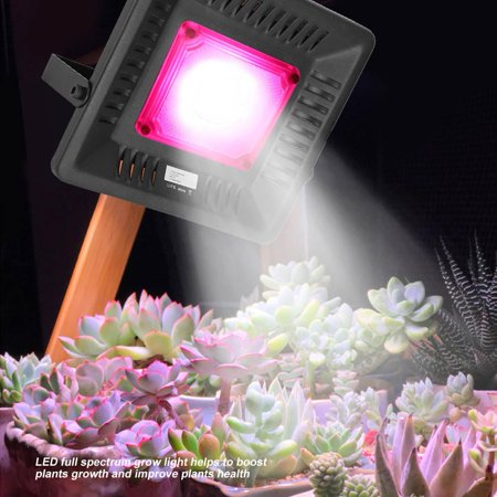 Ejoyous 50W LED Grow Light Full Spectrum Lamp for Hydroponics Indoor Plants Flowers 110V US Plug, LED Grow Light, LED Grow Lamp (Plant Grow Lamp)