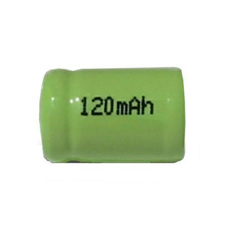 25-Pack 1/3 AAA NiMH Flat Top Batteries (120 mAh) - image 1 de 1
