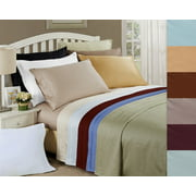 Impressions Arlington Egyptian Cotton Solid Deep Pocket Sheet Set