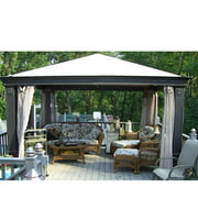 Garden Winds Replacement Canopy Top for Tiverton Series 2 Gazebo - Riplock 350