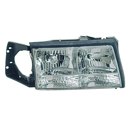 1997-1999 Cadillac Deville Passenger Right Side Headlight Lamp Assembly