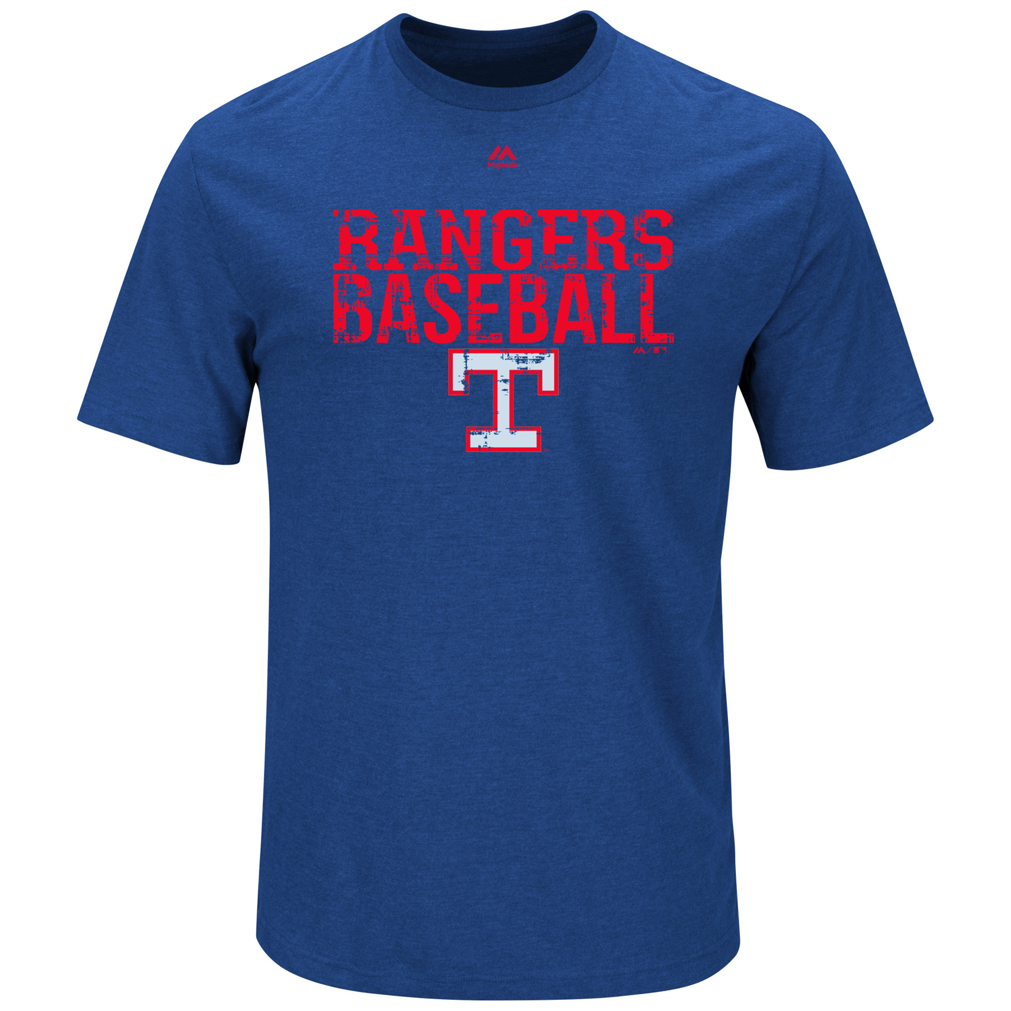 Texas Rangers Majestic Cooperstown One Winner T-Shirt - Royal