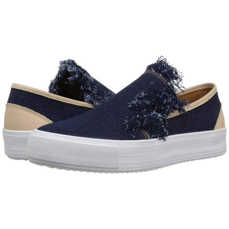 See By Chloé Womens Sb30242 Fabric Low Top Slip On Fashion Sneakers Vera slip on sneaker with raw denim edge. . Buy with confidence!