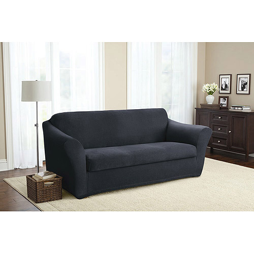 Better Homes and Gardens Stretch Tweed 2 Piece Sofa Slipcover