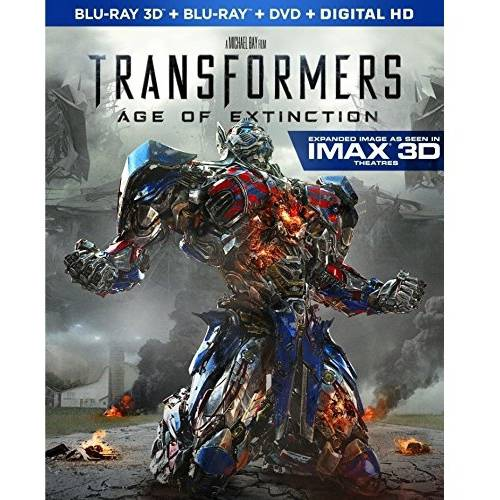 Transformers: Age Of Extinction (3D Blu-ray   Blu-ray   DVD   Digital HD) (With INSTAWATCH) (Widescreen)