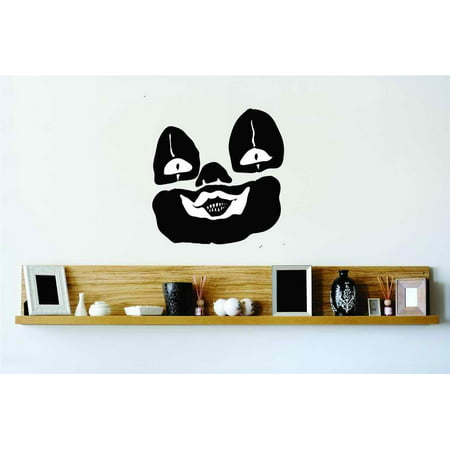 Do It Yourself Wall Decal Sticker Evil Clown Scary Home Halloween Party Decoration Kids Boy Girl Teen Children 20x20 - Kids Halloween Party Decorations