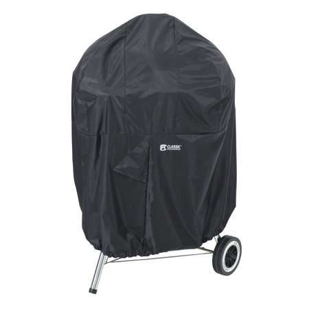 Classic Accessories SODO™ Plus Black Kettle Grill Cover - Tough BBQ Cover with Weather Resistant Fabric (55-939-010401-EC)