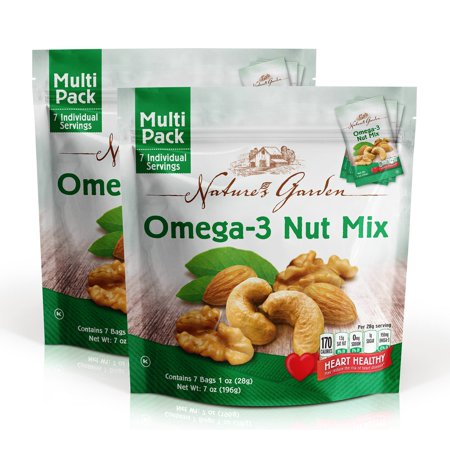 NATURE'S GARDEN OMEGA 3 NUT MIX (Best Nuts For Omega 3)