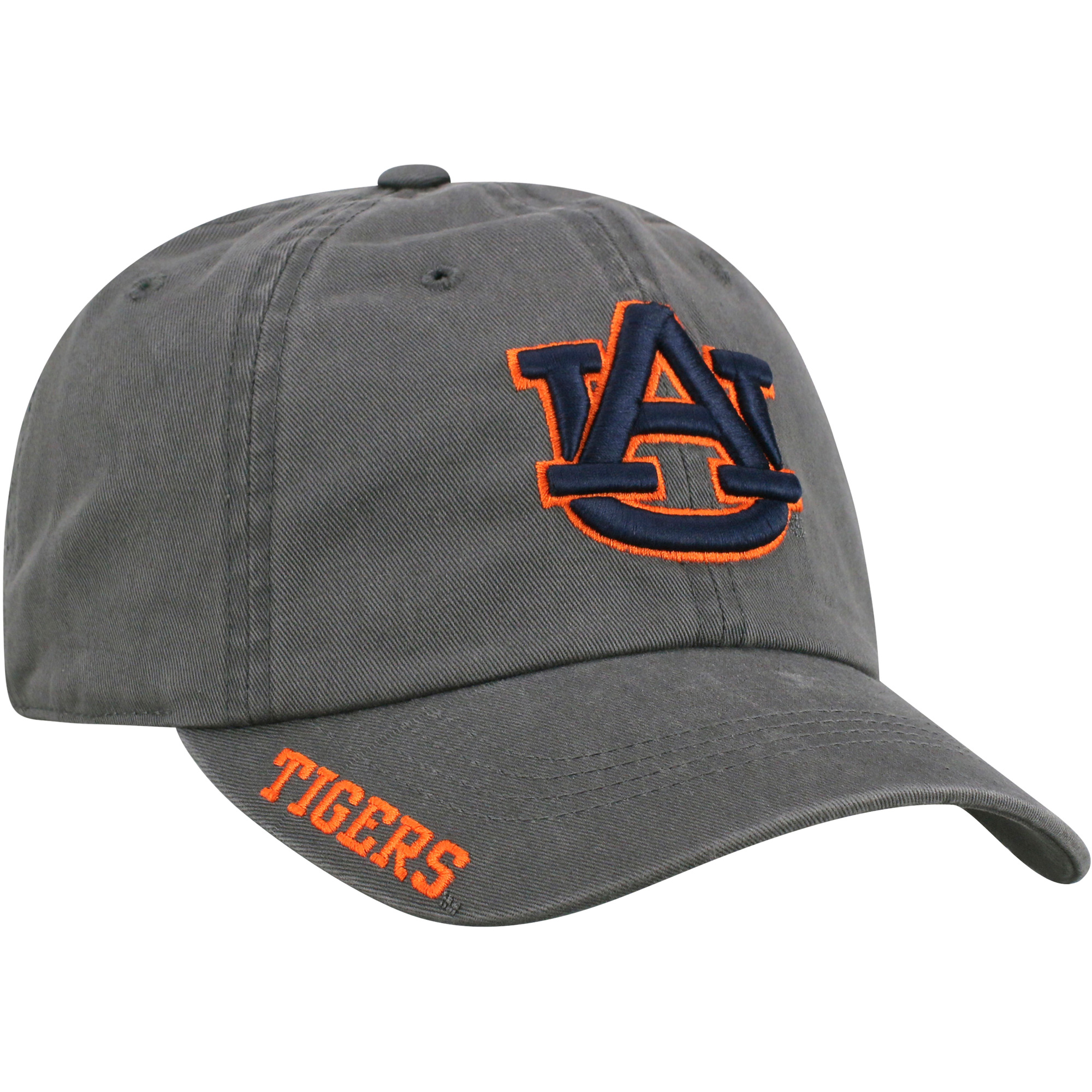 Men's Russell Charcoal Auburn Tigers Washed Adjustable Hat - OSFA