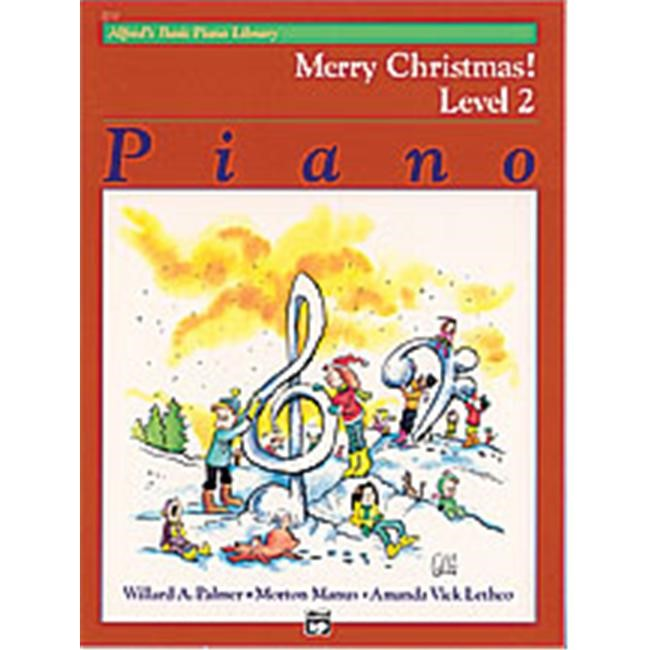 Alfred 00-2212 Basic Piano Course- Merry Christmas Book 2 - Music Book