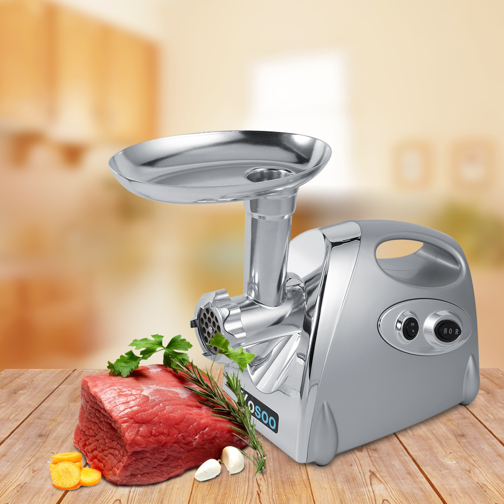 Yosoo 800W  Electric Stainless Steel Meat Grinder with 3 Blades