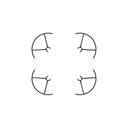 DJI CP.PT.00000222.01 Tello Part 3 Propeller Guards