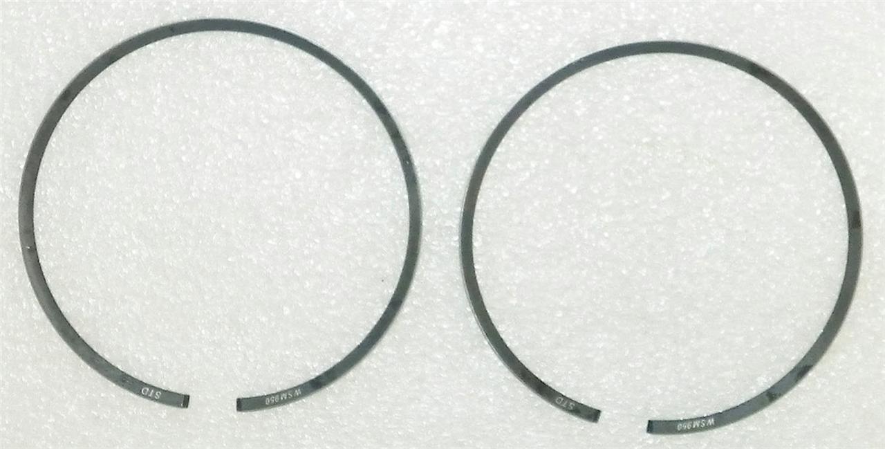 NEW PISTON RINGS 1MM OVER POLARIS 2004 MSX 110 150 1993-95 SL 94-95 SLT 750CC