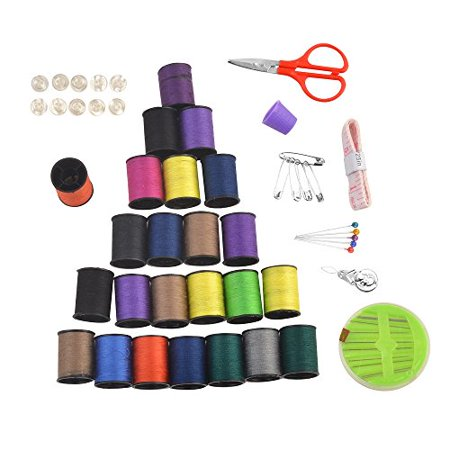 ezthings sewing accessories replenishment thread kits for arts and crafts thread set. Black Bedroom Furniture Sets. Home Design Ideas