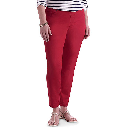Faded Glory Women's Plus-Size Colored Denim Jeggings