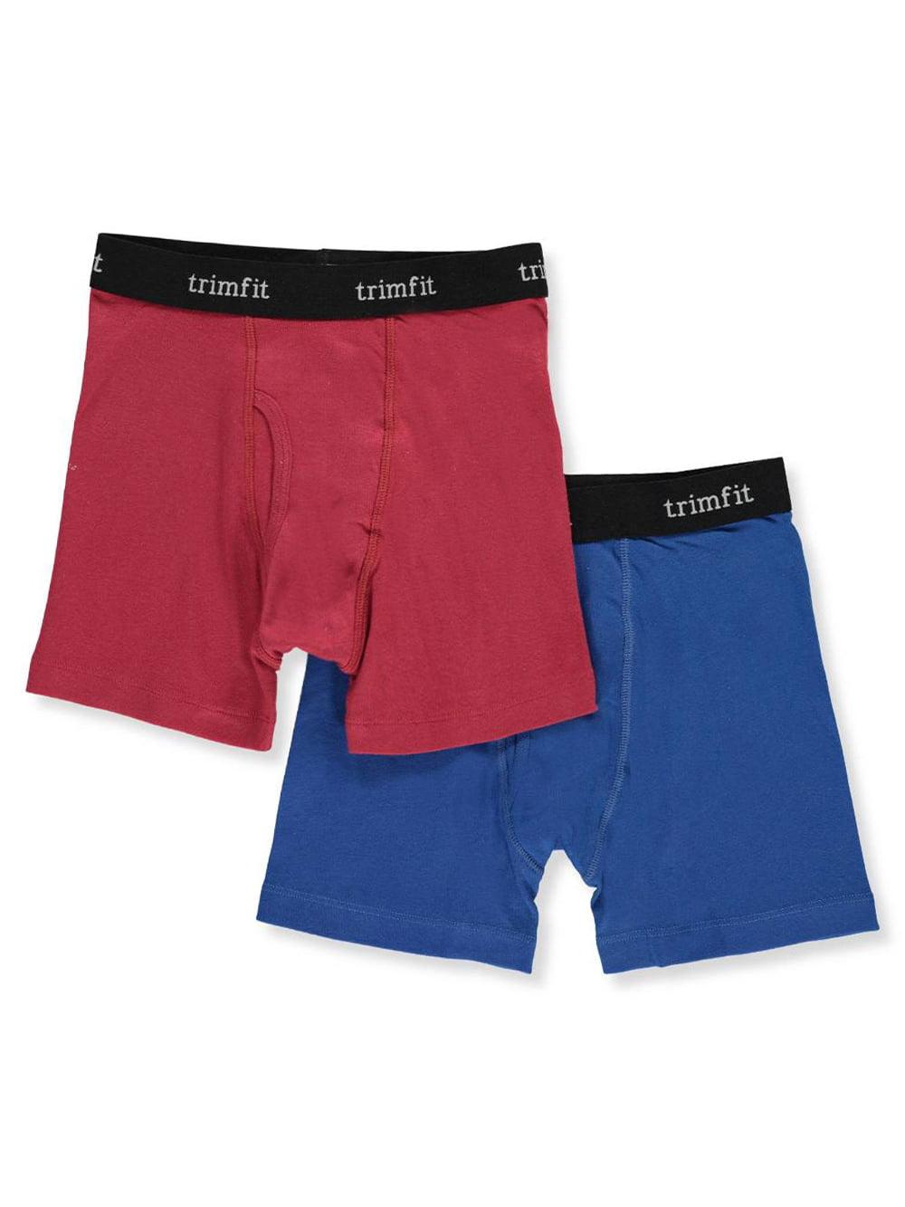 Trimfit Boys' 2-Pack Boxer Briefs