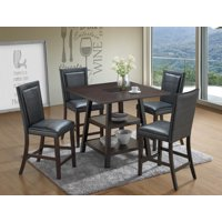 Home Source Sable 5 Piece Dining Set