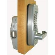 Lockey 115-P-BB Right Mechanical Keyless Heavy Duty Lever Panic Trim - Bright Brass
