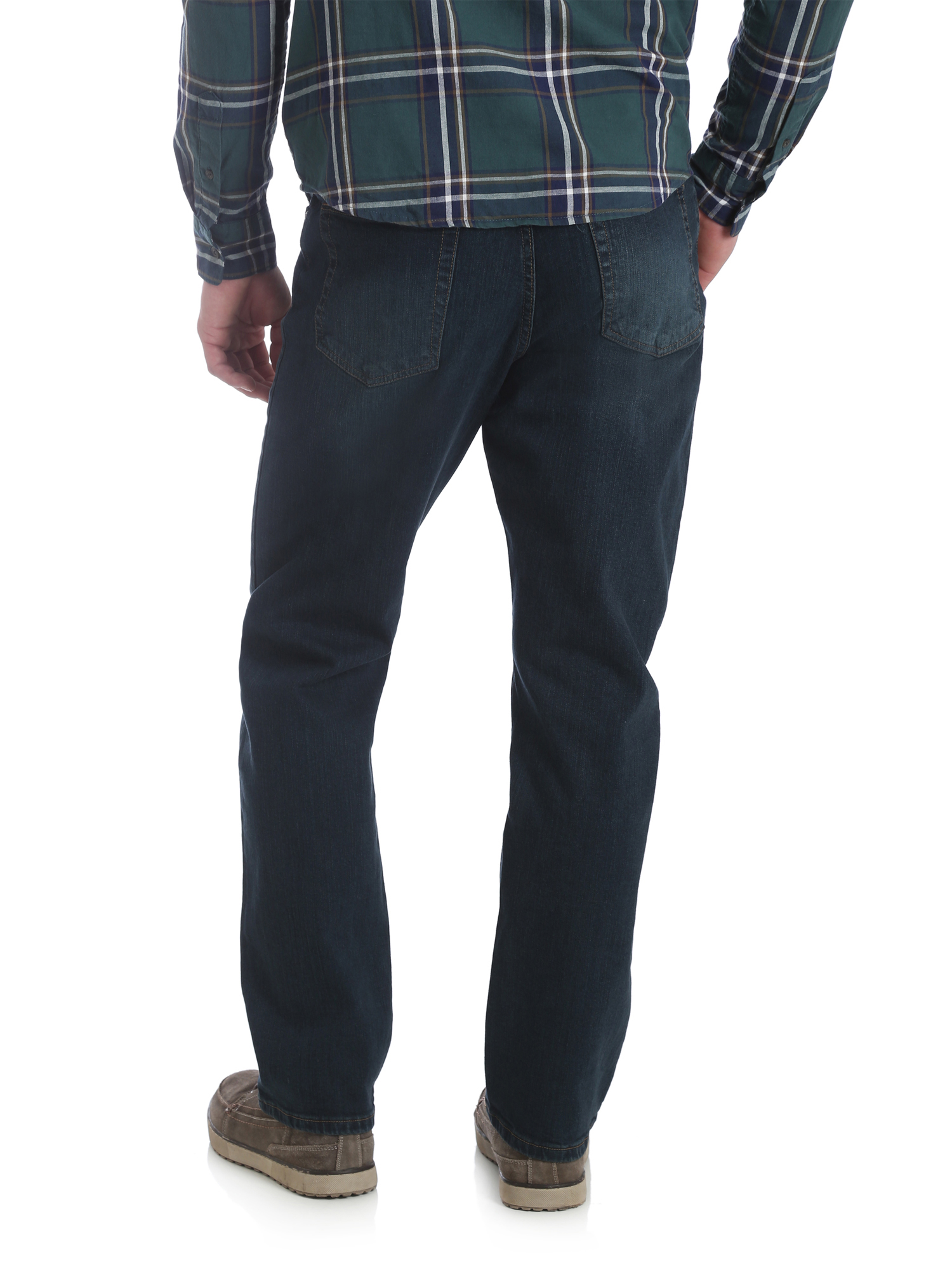 5d709471d929 Wrangler - Wrangler Men s 5 Star Relaxed Fit Jean with Flex - Walmart.com