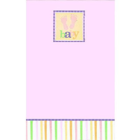 Baby Shower 'Baby Feet' Imprintable Invitations w/ Envelopes (8ct) (Imprintable Invitations)