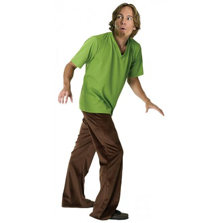 Men's Shaggy Costume - Scooby-Doo - Scooby Doo Halloween Costume Diy