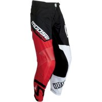 Moose Racing Qualifier Mens MX Offroad Pants Black/Red