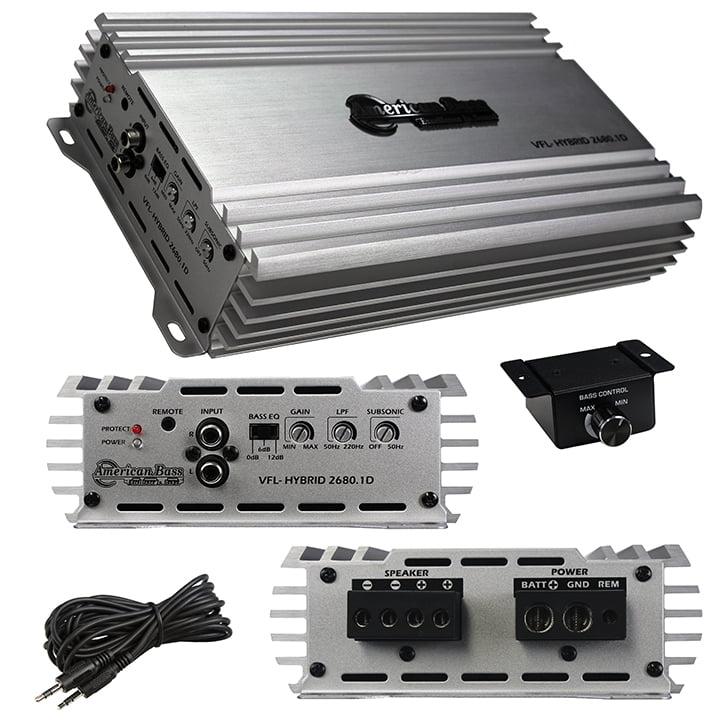 American Bass Class D Mono Hybrid Amplifier 2700W Max