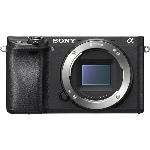 Sony Alpha a6300 Mirrorless Interchangeable-lens Camera - Black