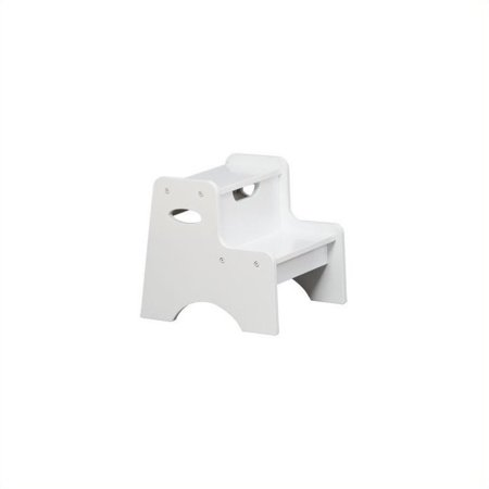 Kidkraft Two Step Stool For Kids In White Image 1 Of 2