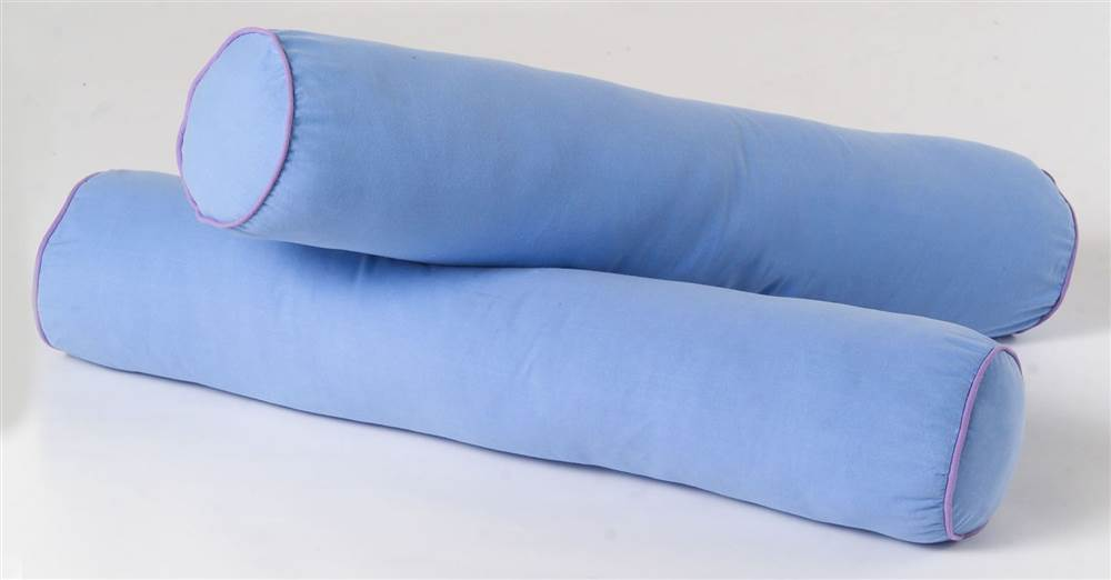 bolster pillow cores w washable cotton cover set of 2
