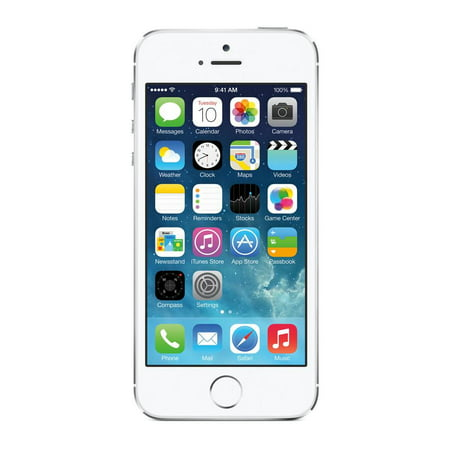 Refurbished iPhone 5S 16GB Silver Unlocked ()